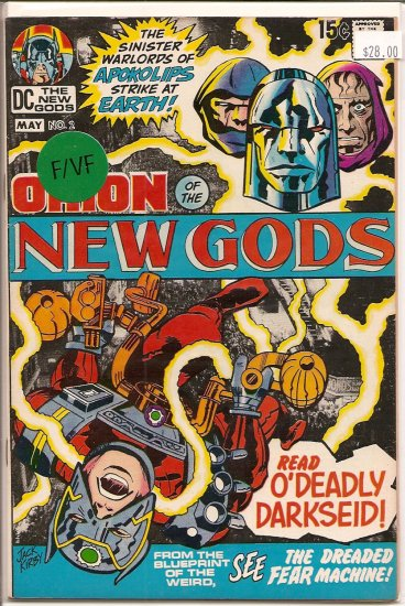 New Gods # 2, 7.0 FN/VF