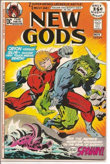 New Gods # 5, 8.0 VF