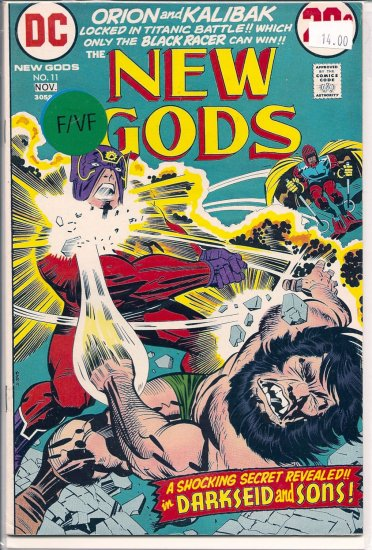 New Gods # 11, 7.0 FN/VF
