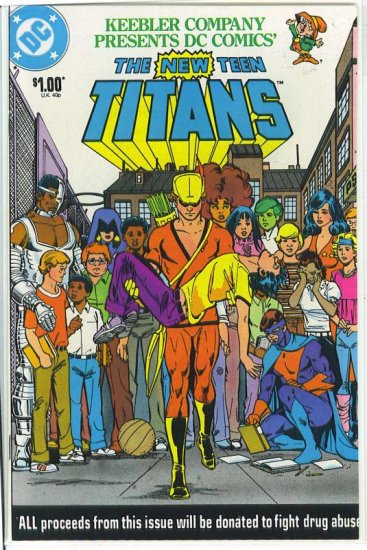 New Teen Titans # 1, 9.2 NM -