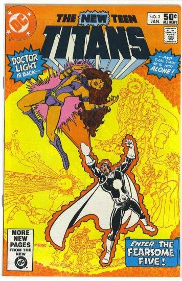 New Teen Titans # 3, 8.5 VF +