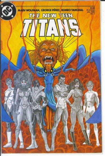 New Teen Titans # 4, 9.2 NM -