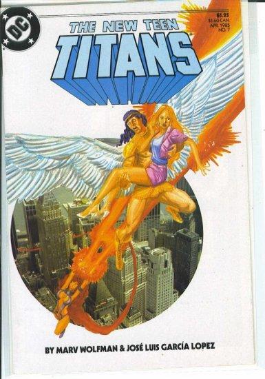 New Teen Titans # 7, 9.4 NM