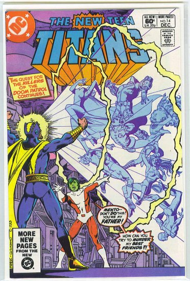 New Teen Titans # 14, 9.6 NM +