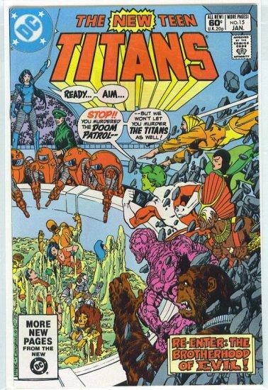 New Teen Titans # 15, 9.2 NM -