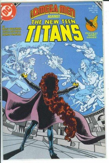 New Teen Titans # 16, 9.2 NM -