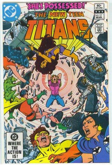 New Teen Titans # 17, 9.6 NM +