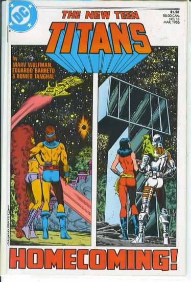 New Teen Titans # 18, 9.2 NM -