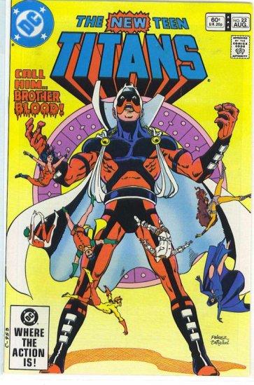 New Teen Titans # 22, 9.2 NM -