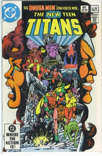 New Teen Titans # 24, 9.2 NM -