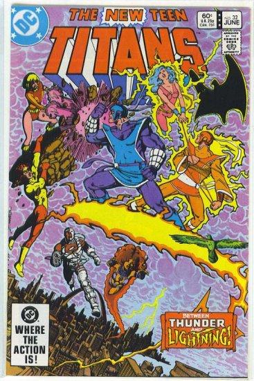 New Teen Titans # 32, 9.6 NM +