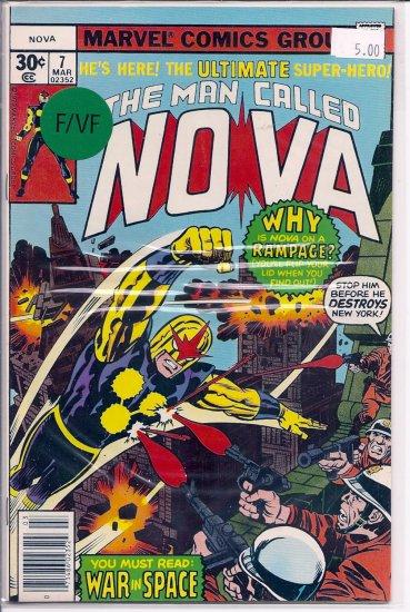 Nova # 7, 7.0 FN/VF