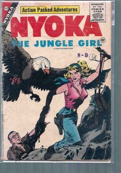 NYOKA THE JUNGLE GIRL # 18, 2.0 GD