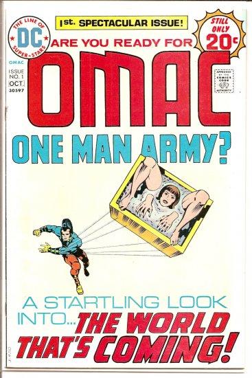 Omac # 1, 7.5 VF -