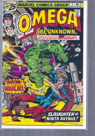 OMEGA THE UNKNOWN # 2, 4.5 VG +