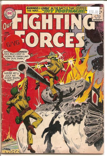 Our Fighting Forces # 89, 3.0 GD/VG