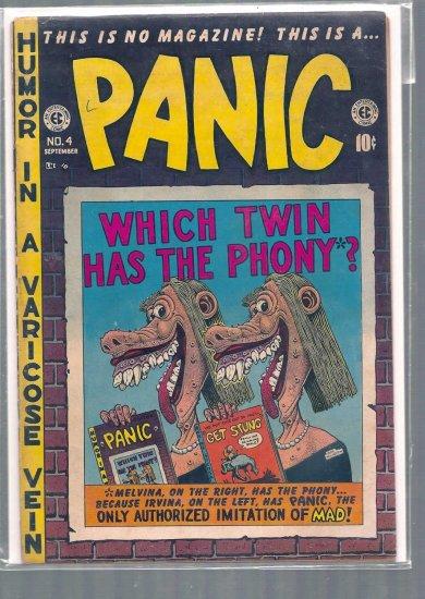 PANIC # 4, 4.0 VG