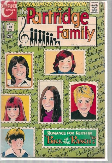 PARTRIDGE FAMILY # 7, 4.5 VG +