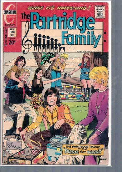 Partridge Family # 10, 2.5 GD +