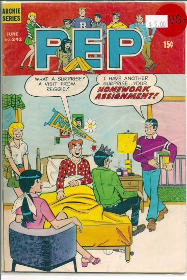 Pep Comics # 242, 4.5 VG +