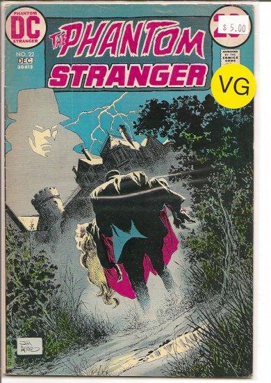 Phantom Stranger # 22, 4.0 VG
