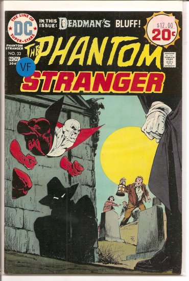 Phantom Stranger # 33, 8.0 VF