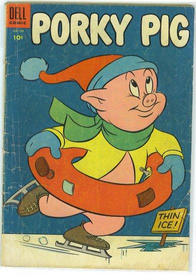 Porky Pig # 38, 2.5 GD +