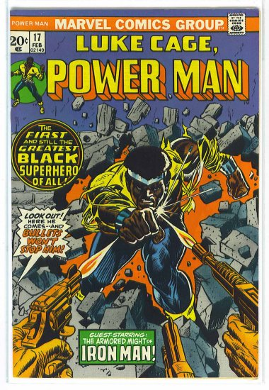 Power Man # 17, 4.0 VG