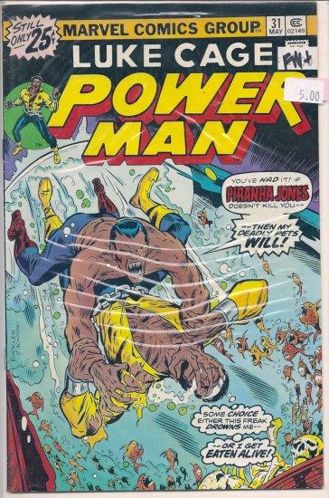 Power Man # 31, 6.5 FN +