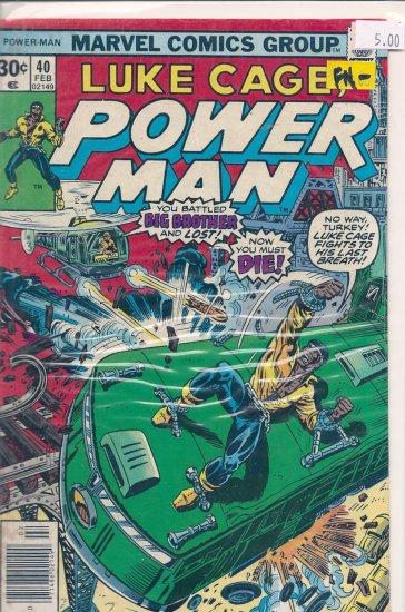 Power Man # 40, 5.5 FN -