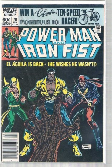 POWER MAN # 78, 3.0 GD/VG