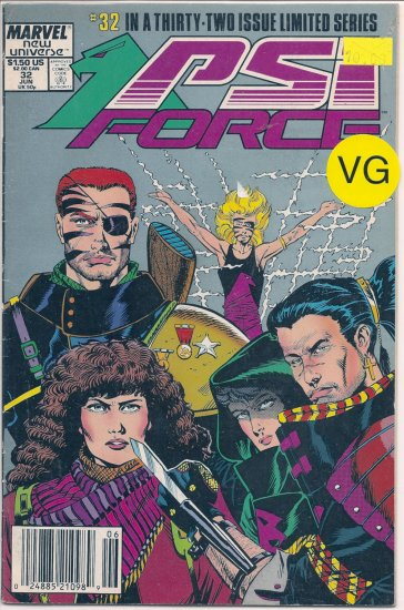PSI Force # 32, 4.0 VG