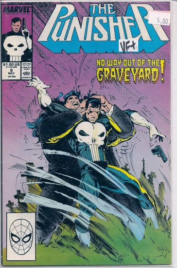 Punisher # 8, 8.5 VF +