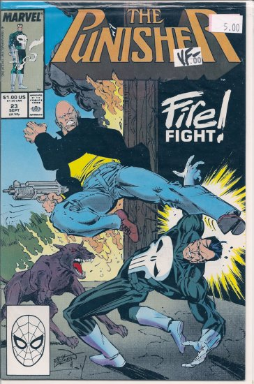 Punisher # 23, 7.5 VF -