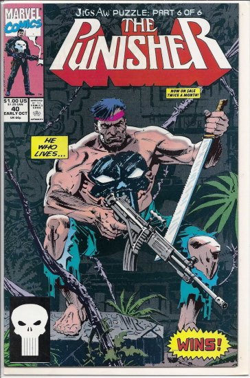 PUNISHER # 40, 9.2 NM -