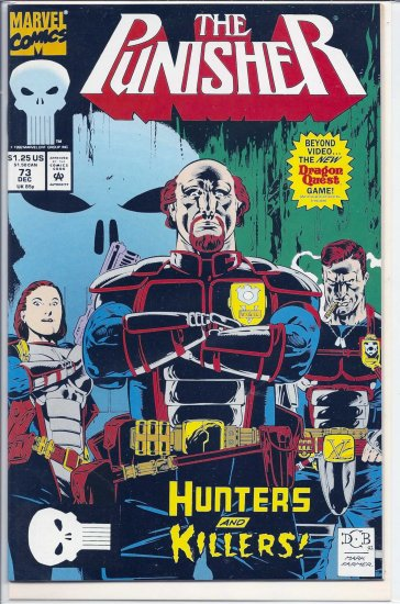PUNISHER # 73, 9.2 NM -