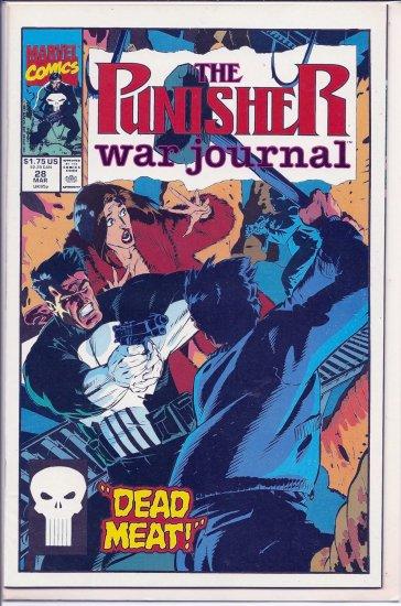 PUNISHER WAR JOURNAL # 28, 9.0 VF/NM