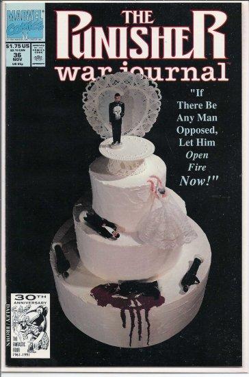 PUNISHER WAR JOURNAL # 36, 9.4 NM