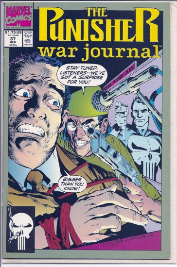 PUNISHER WAR JOURNAL # 37, 8.0 VF