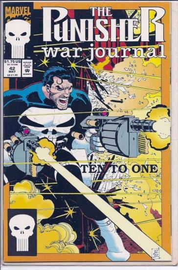 PUNISHER WAR JOURNAL # 42, 9.2 NM -