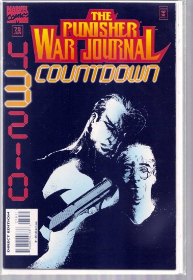 PUNISHER WAR JOURNAL # 79, 9.2 NM -