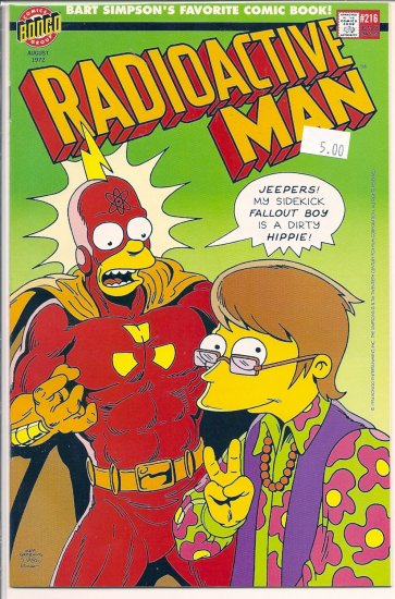 Radioactive Man # 216, 9.4 NM