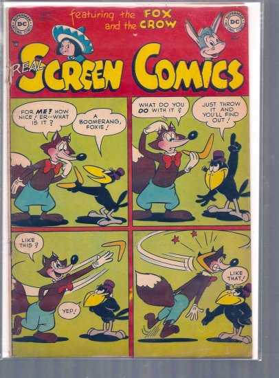 REAL SCREEN COMICS # 54, 2.0 GD