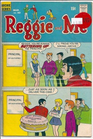 Reggie And Me # 40, 4.5 VG +
