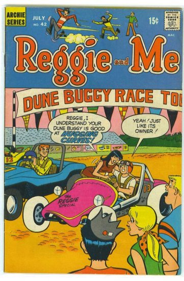 Reggie And Me # 42, 4.5 VG +
