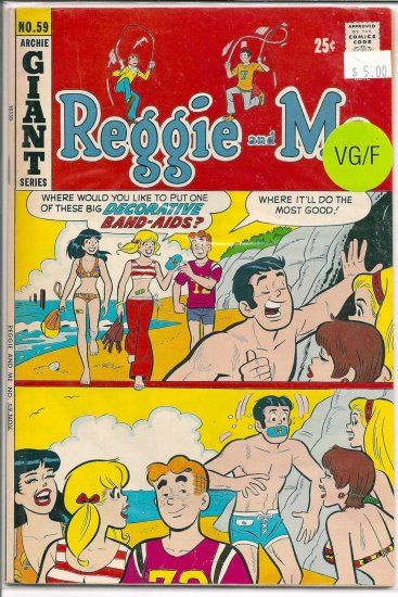 Reggie And Me # 59, 5.0 VG/FN