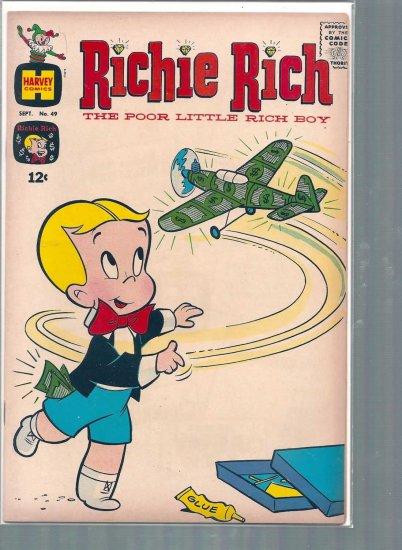 RICHIE RICH # 49, 4.0 VG