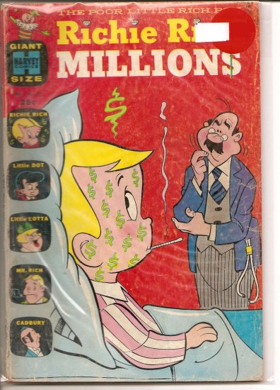 Richie Rich Millions # 27, 3.5 VG -