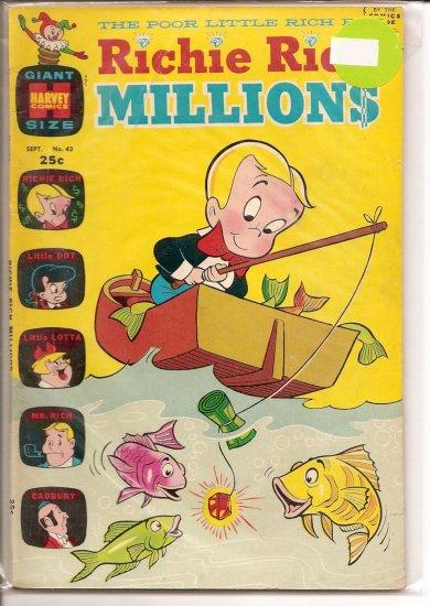 Richie Rich Millions # 43, 6.0 FN