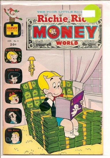 Richie Rich Money World # 3, 5.5 FN -